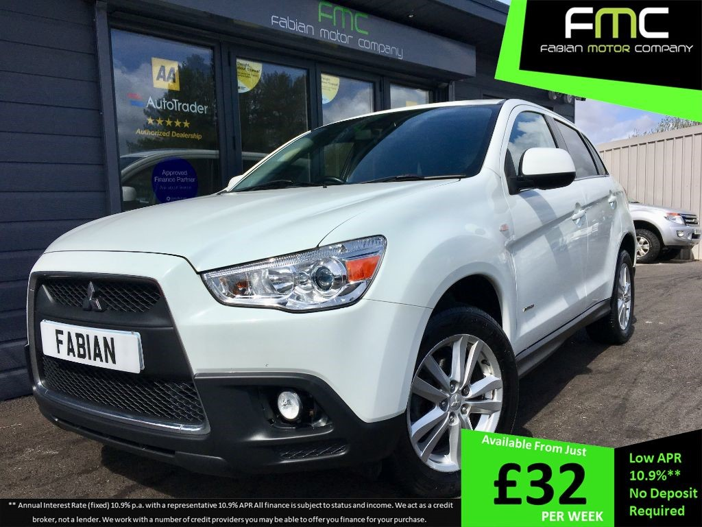 used Mitsubishi ASX DI-D 3 in swansea-south-wales