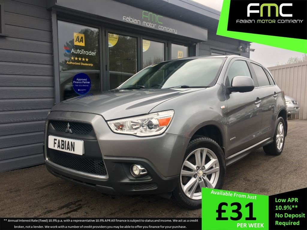 used Mitsubishi ASX 3 in swansea-south-wales