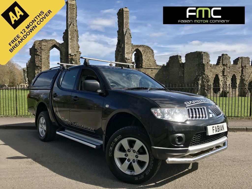 used Mitsubishi L200 DI-D 4X4 4LIFE LB DCB in swansea-south-wales