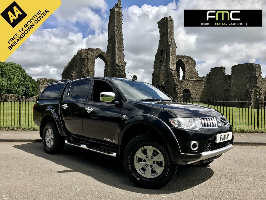 used Mitsubishi L200 DI-D 4X4 TROJAN DCB in swansea-south-wales