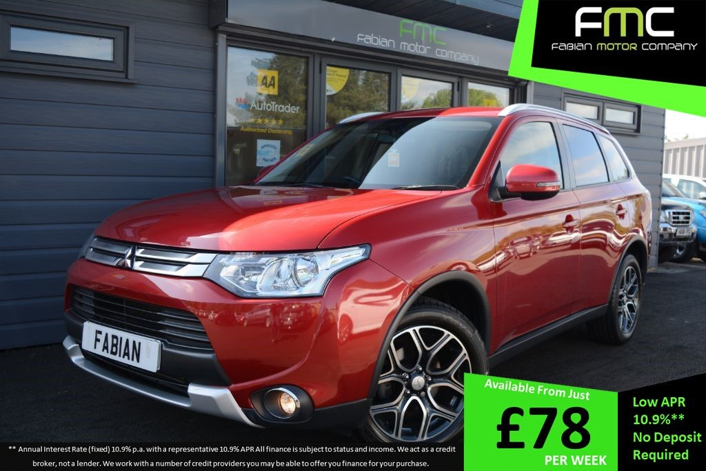 used Mitsubishi Outlander DI-D GX 3 in swansea-south-wales