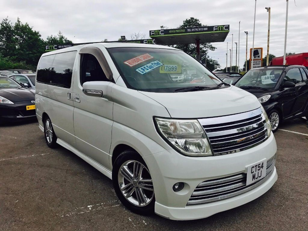 used Nissan Elgrand Autech Rider S in swansea-south-wales