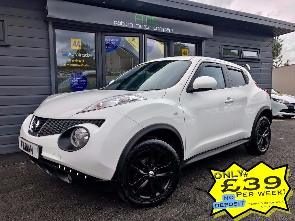 used Nissan Juke TEKNA DCI in swansea-south-wales