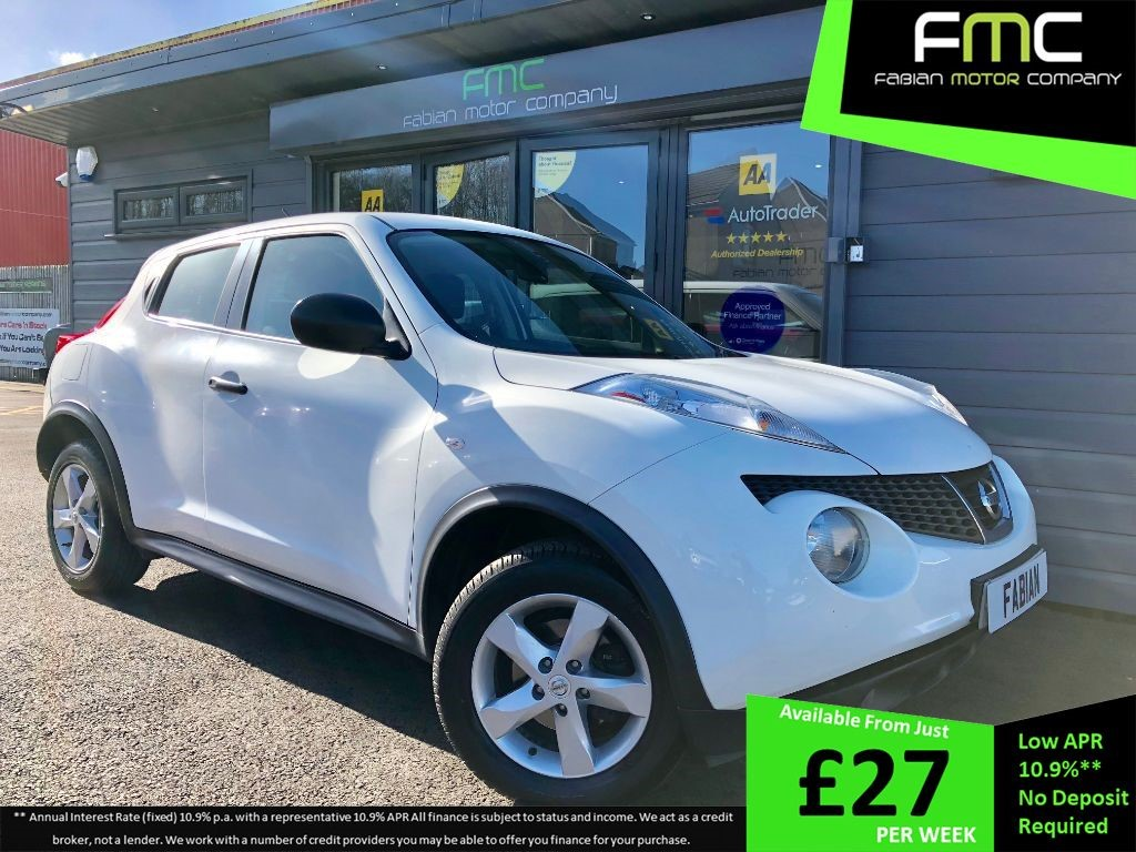 used Nissan Juke VISIA DCI in swansea-south-wales