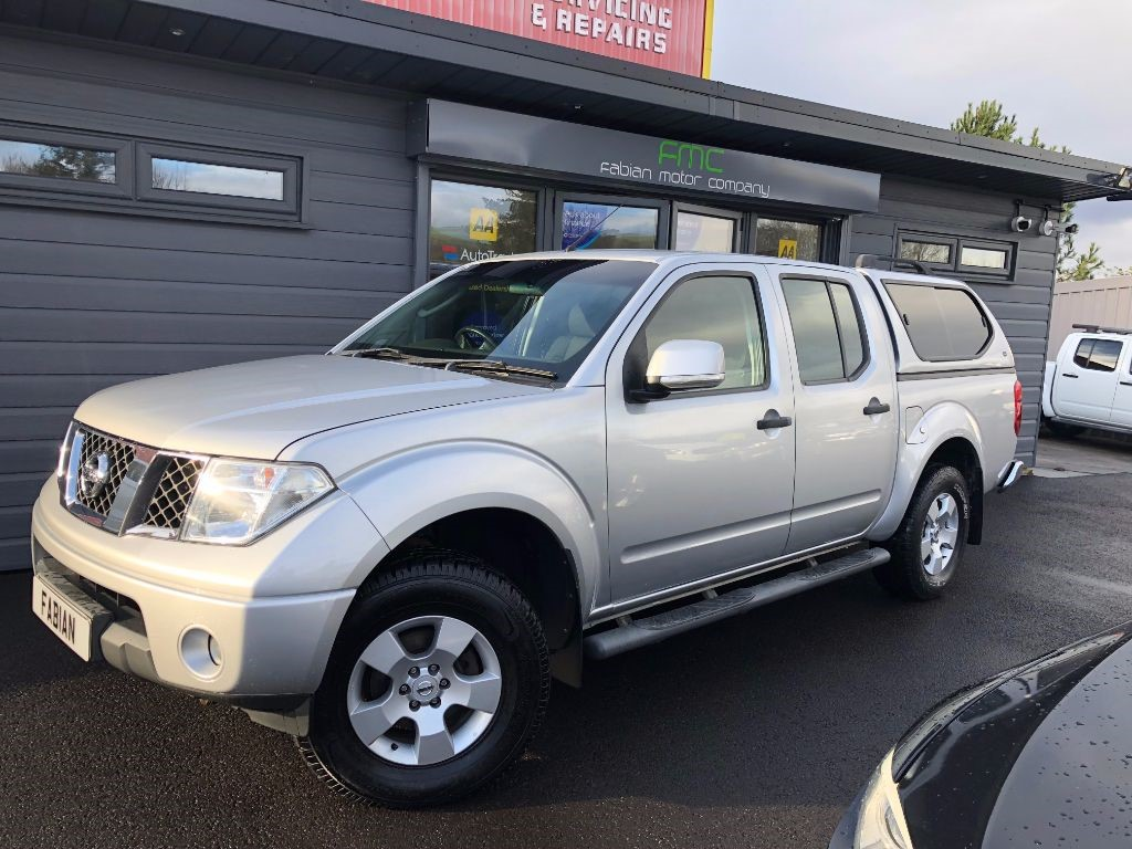 used Nissan Navara Double Cab Pickup in swansea-south-wales