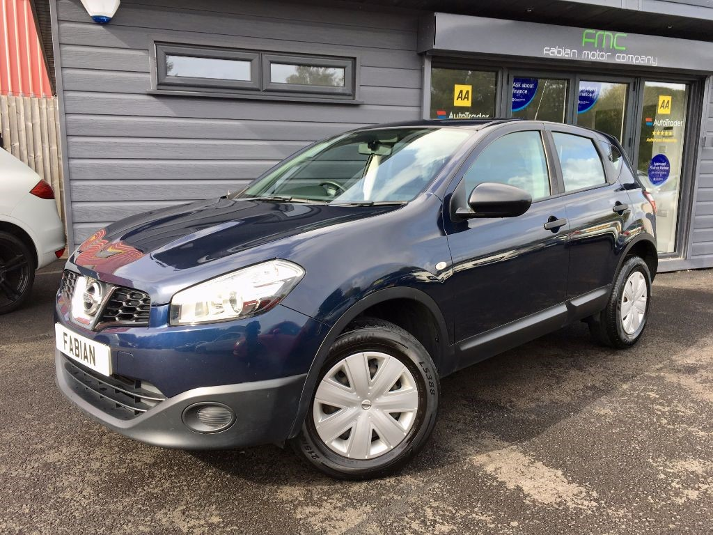 used Nissan Qashqai VISIA PURE DRIVE DCI in swansea-south-wales