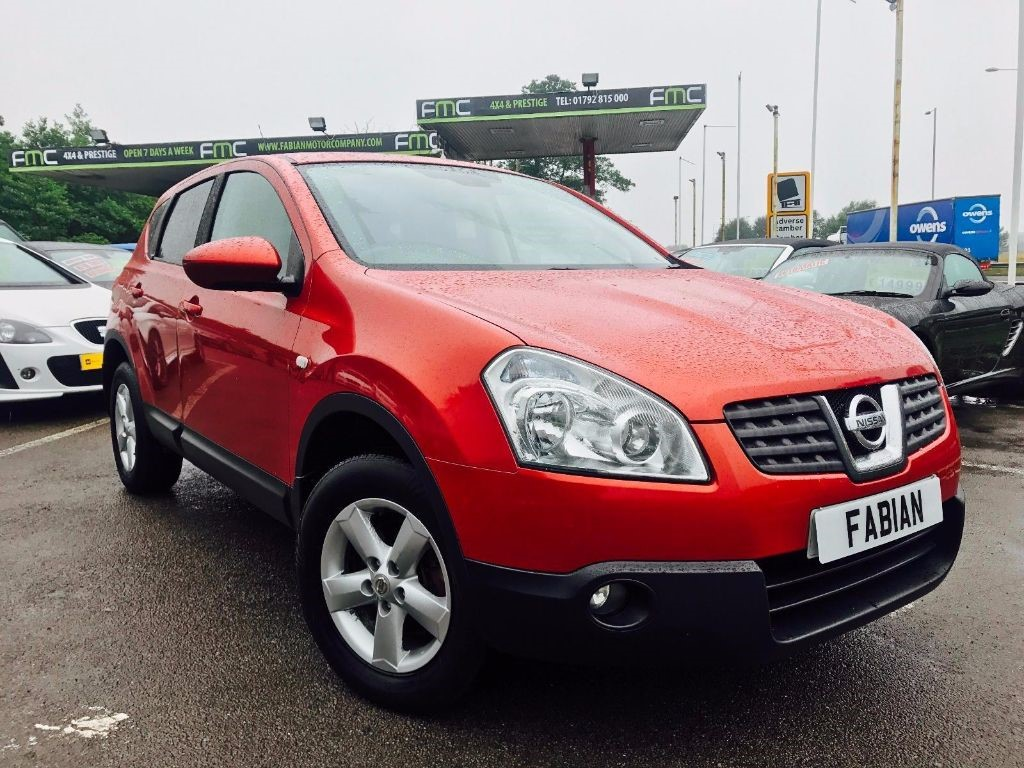 used Nissan Qashqai ACENTA in swansea-south-wales