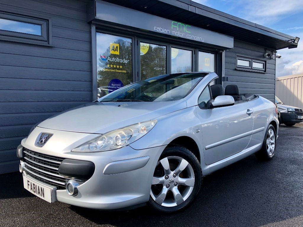 used Peugeot 307 S COUPE CABRIOLET in swansea-south-wales
