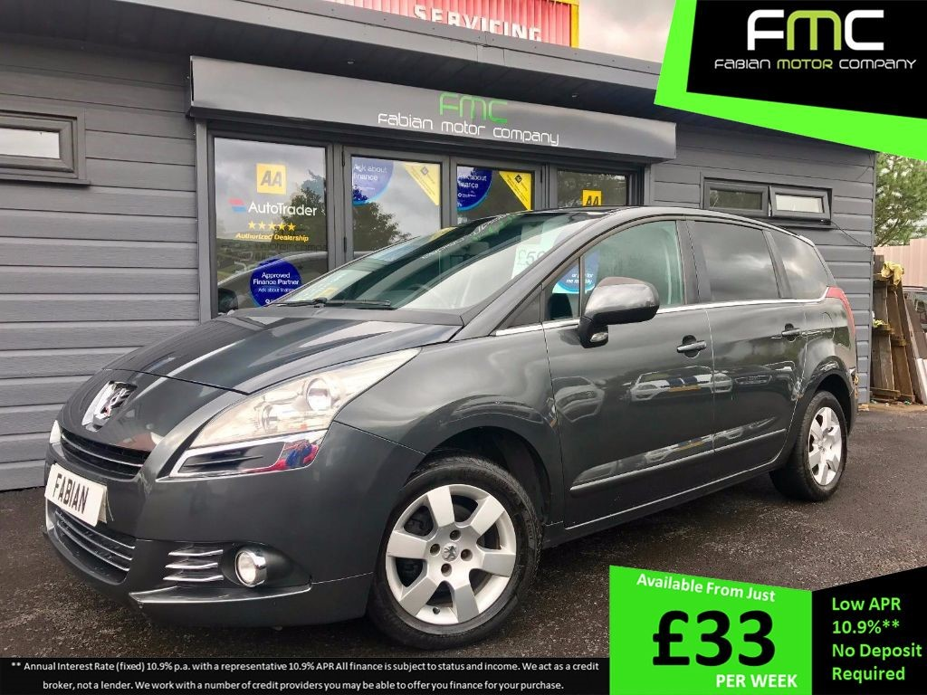 used Peugeot 5008 HDi FAP Sport MPV 5dr Manual (140 g/km 110 bhp) in swansea-south-wales