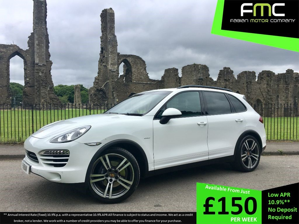 used Porsche Cayenne D V6 TIPTRONIC in swansea-south-wales