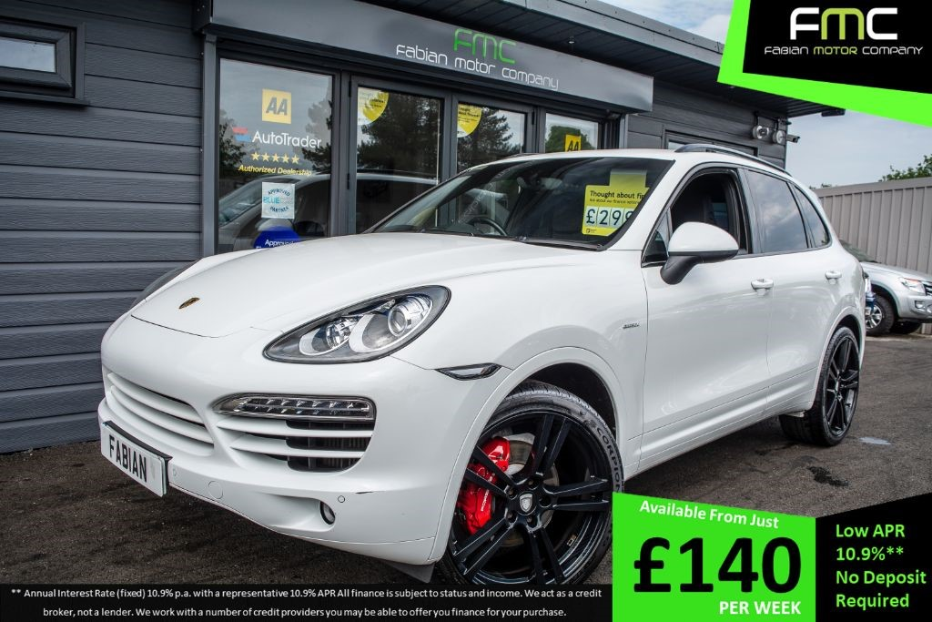 used Porsche Cayenne TDI Tiptronic S AWD 5dr in swansea-south-wales