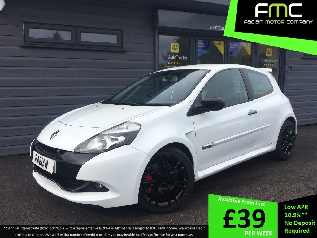 used Renault Clio RENAULTSPORT in swansea-south-wales
