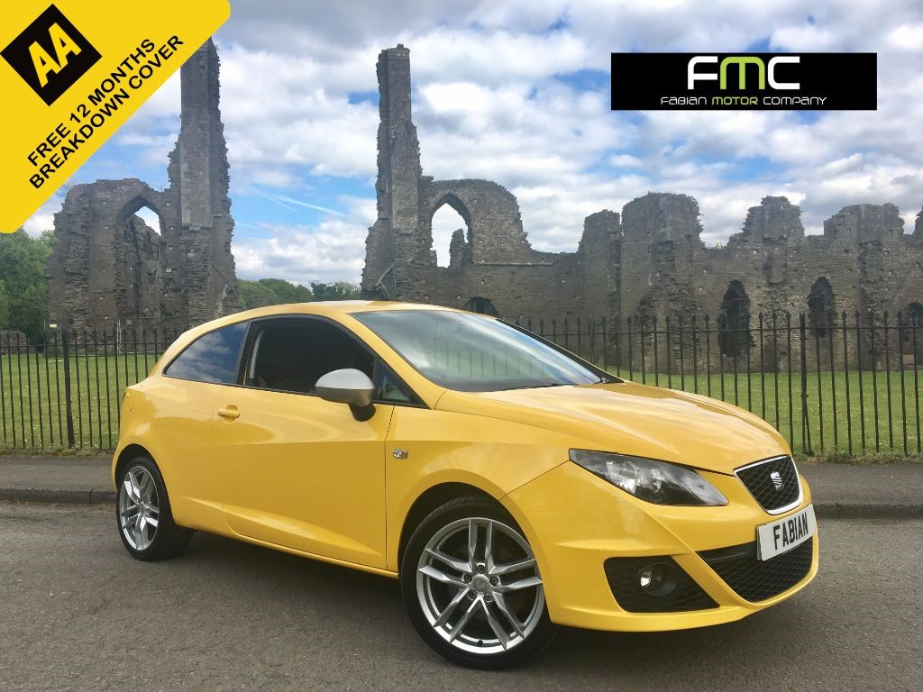 used SEAT Ibiza CR TDI FR in swansea-south-wales