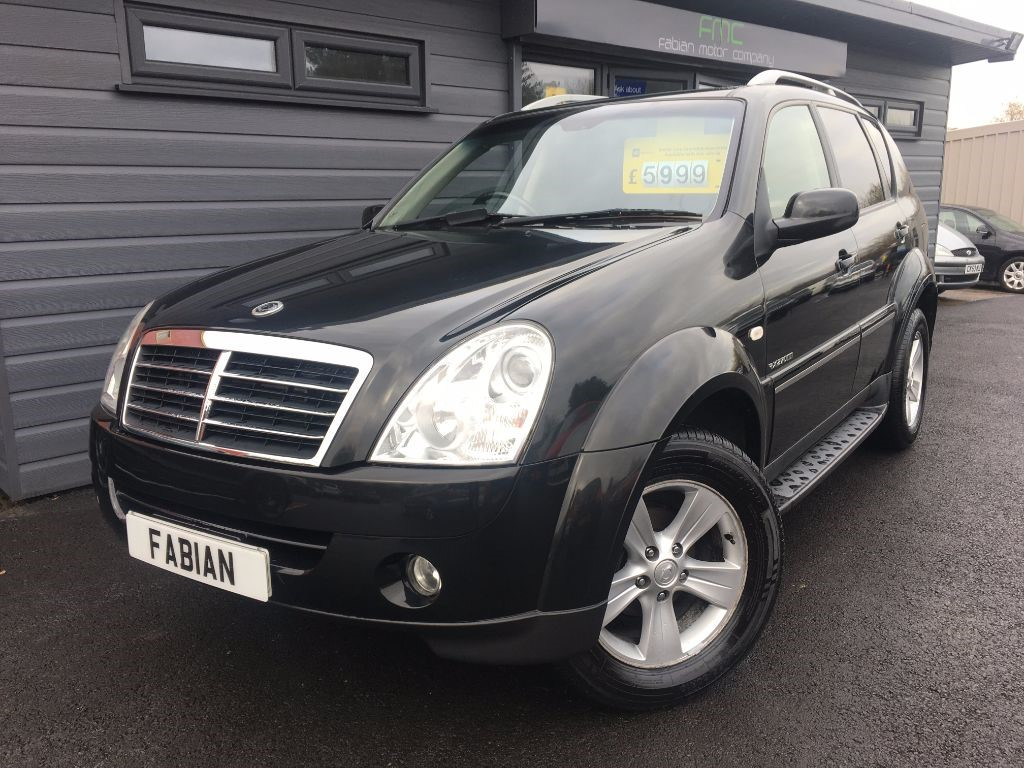 used Ssangyong Rexton 270 SPR in swansea-south-wales