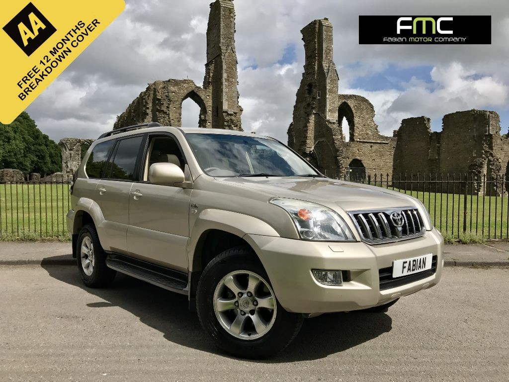 used Toyota Land Cruiser LC5 8-SEATS D-4D in swansea-south-wales