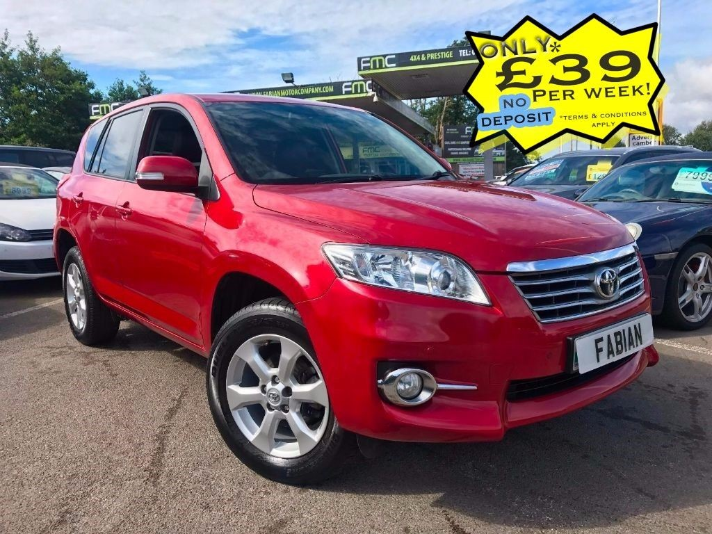 used Toyota RAV4 RAV-4 XT-R D-4D in swansea-south-wales