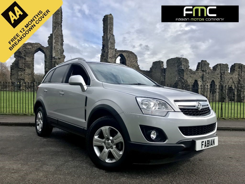 used Vauxhall Antara EXCLUSIV CDTI in swansea-south-wales