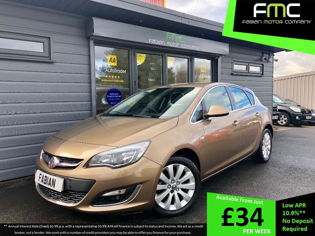 used Vauxhall Astra ELITE in swansea-south-wales