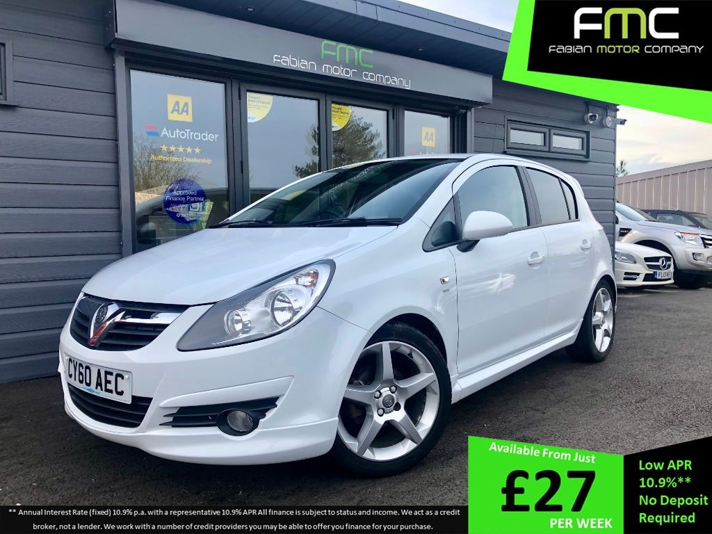 used Vauxhall Corsa SRI in swansea-south-wales