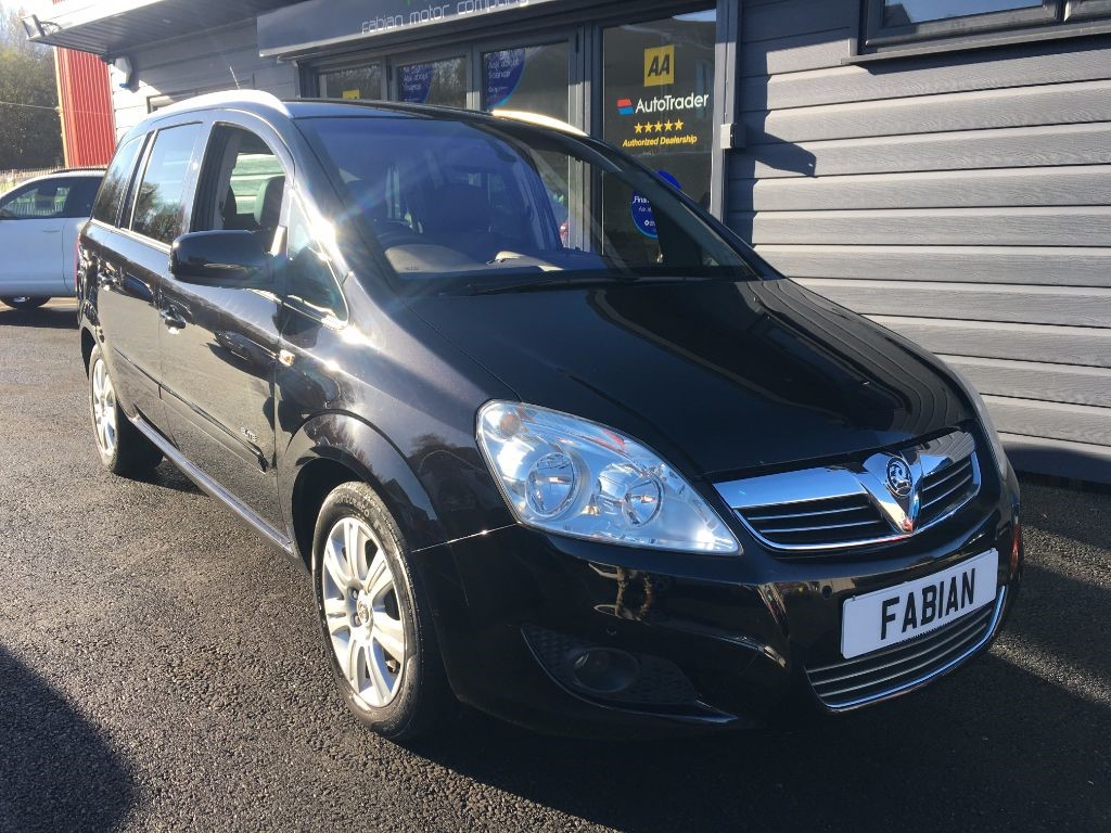 used Vauxhall Zafira ELITE CDTI in swansea-south-wales