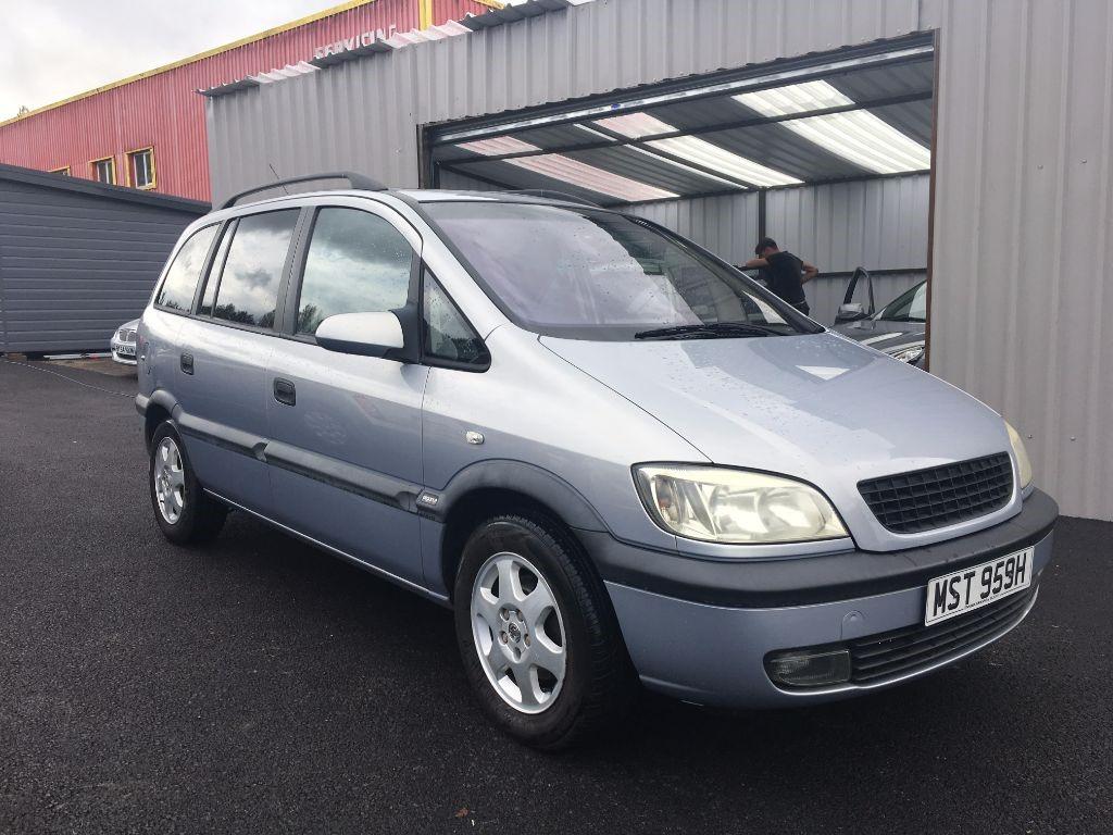 used Vauxhall Zafira ELEGANCE 16V in swansea-south-wales