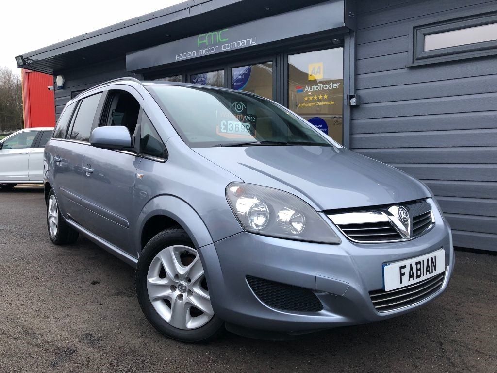 used Vauxhall Zafira 1.6 VVT Exclusiv in swansea-south-wales