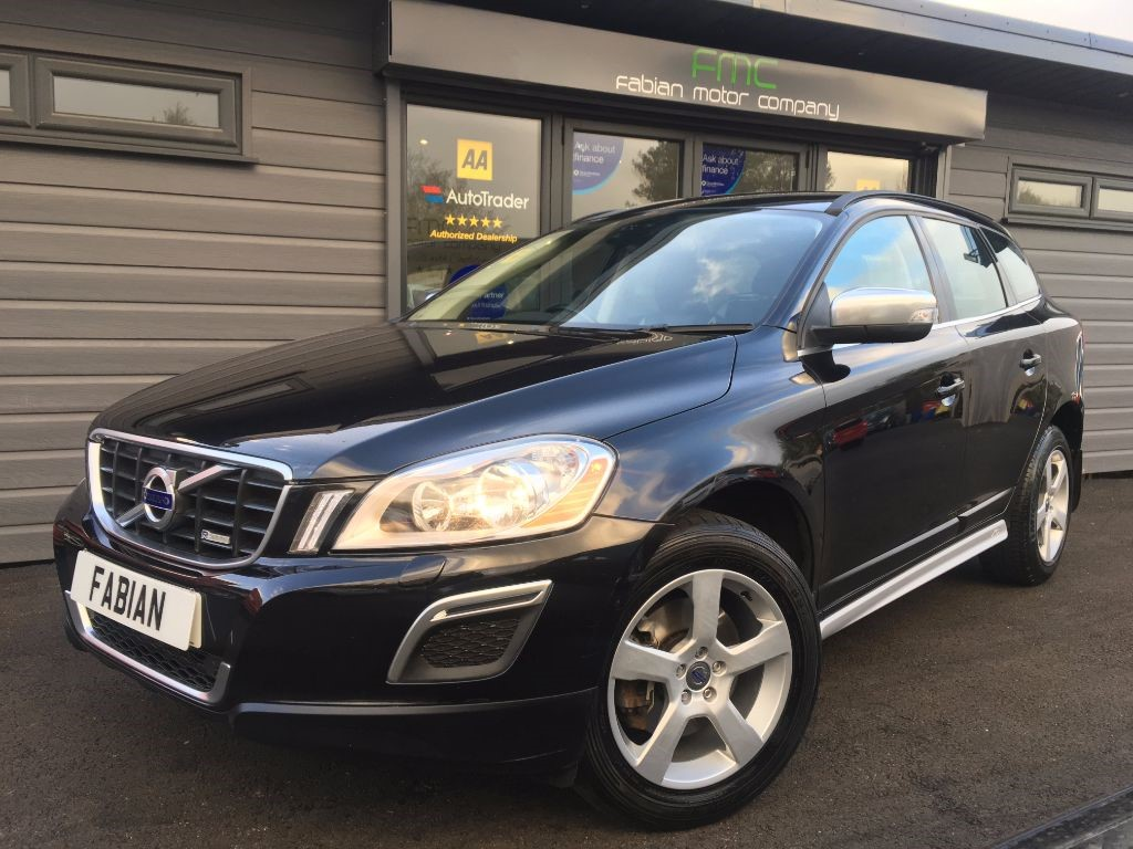 used Volvo XC60 D5 R-DESIGN AWD in swansea-south-wales