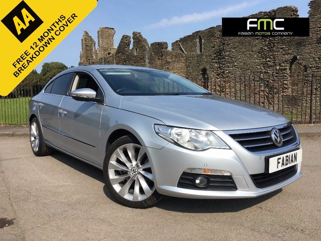 used VW CC TDI BlueMotion Tech GT Saloon 4dr Manual (125 g/km, 138 bhp) in swansea-south-wales