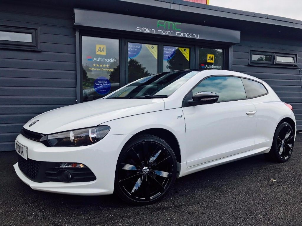 used VW Scirocco R LINE TDI in swansea-south-wales