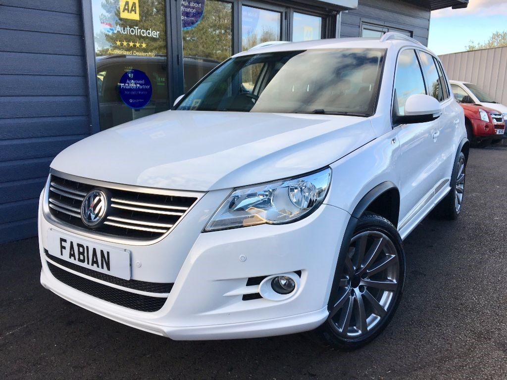 used VW Tiguan R LINE TDI 4MOTION DSG in swansea-south-wales
