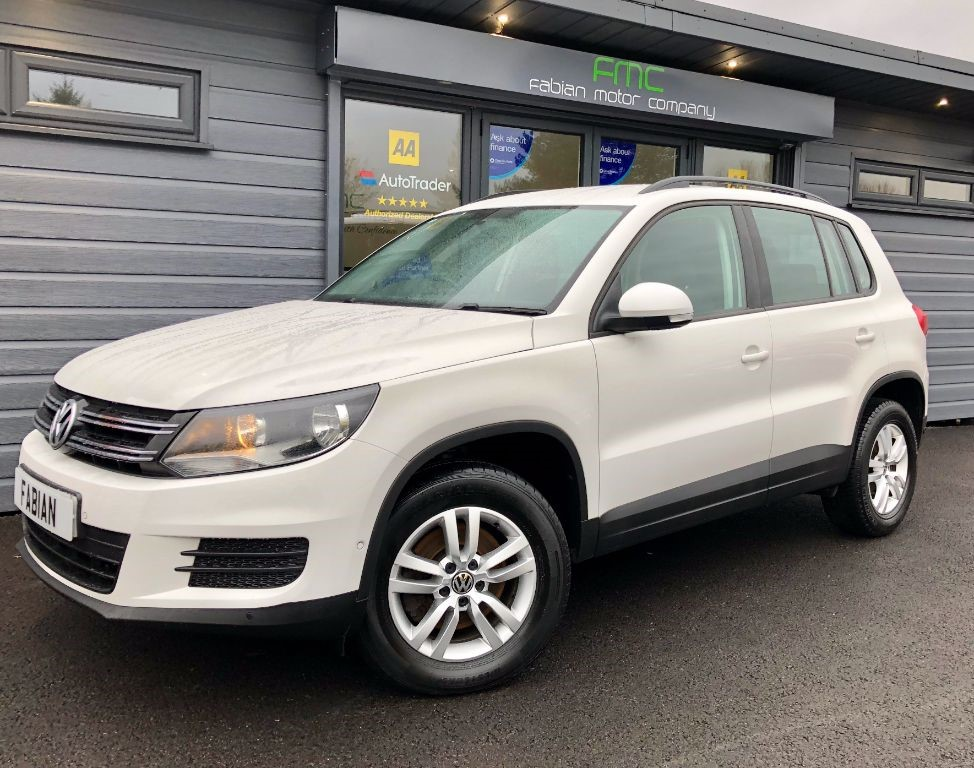 used VW Tiguan S TDI BLUEMOTION TECHNOLOGY 4MOTION in swansea-south-wales