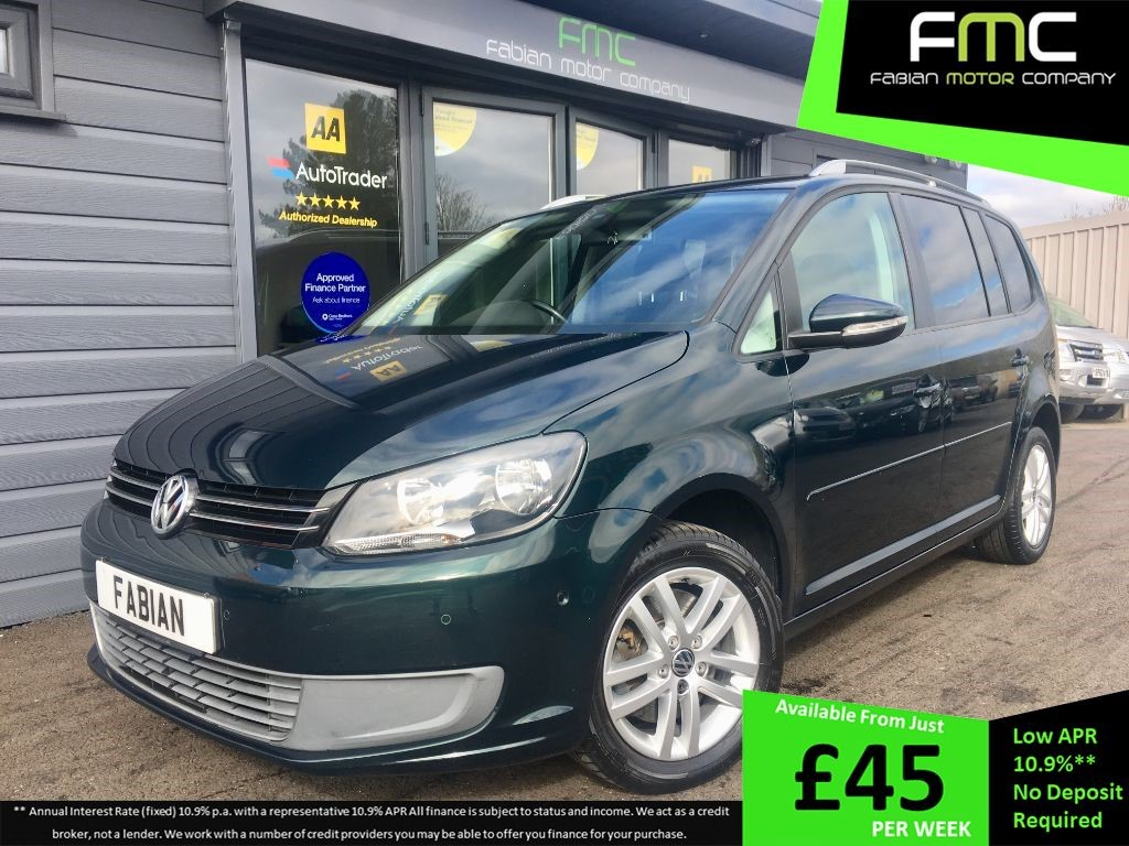 used VW Touran SE TDI in swansea-south-wales