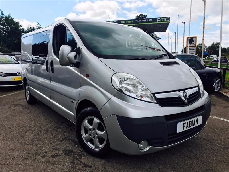 used Vauxhall Vivaro in Swansea