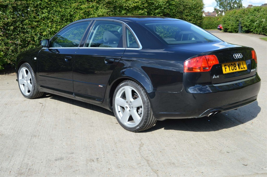 Used Black Audi A4 For Sale Epping Essex
