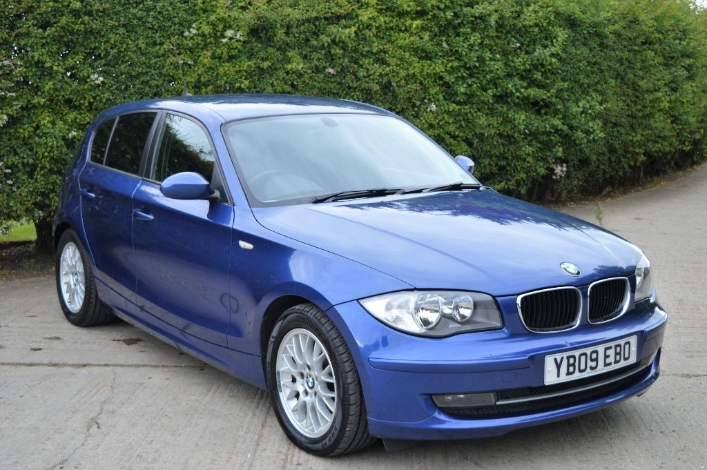 used blue bmw 118d for sale epping essex. Black Bedroom Furniture Sets. Home Design Ideas