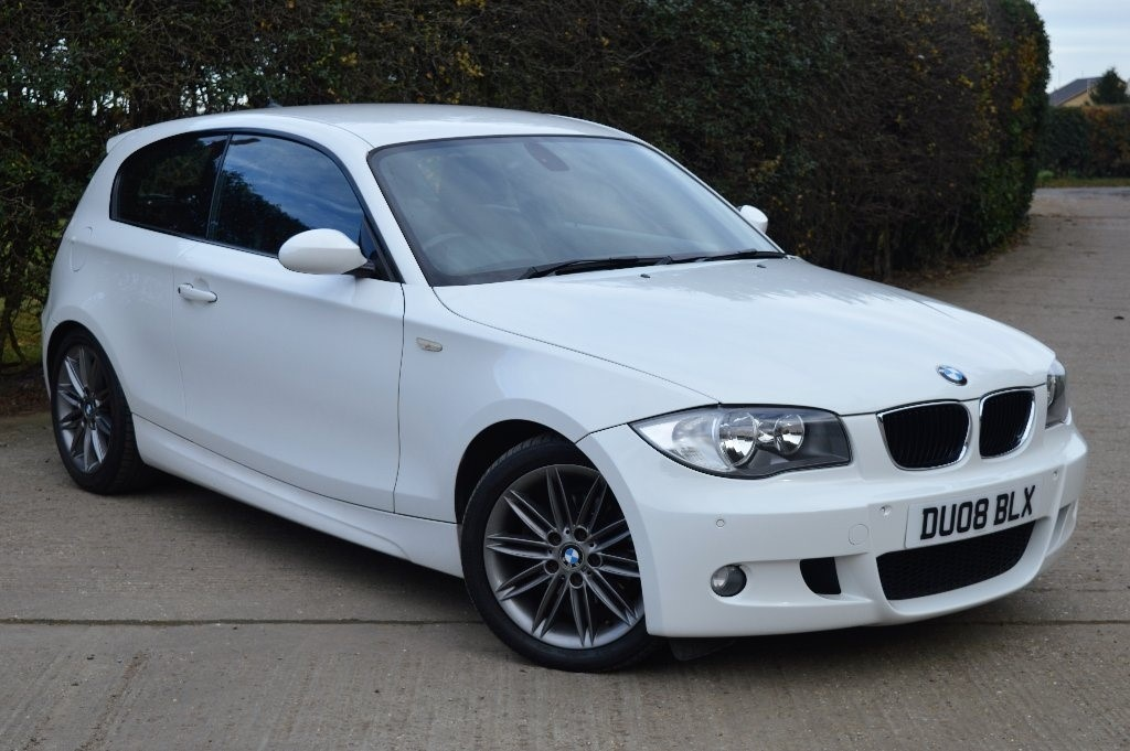used white bmw 118i for sale epping essex. Black Bedroom Furniture Sets. Home Design Ideas