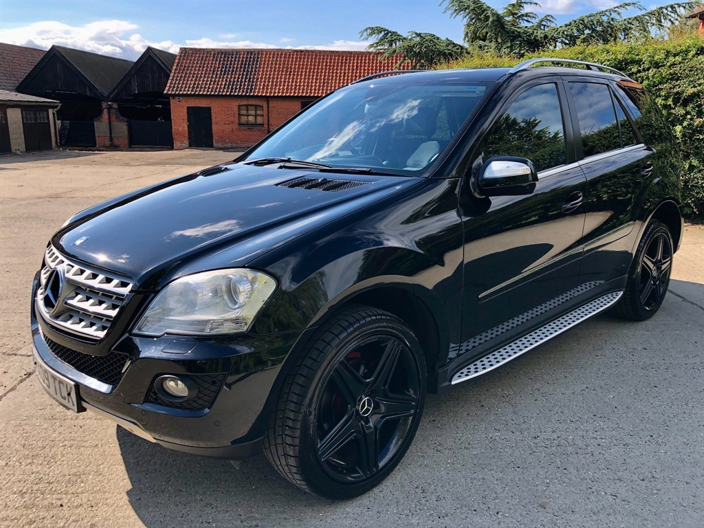 Used Black Mercedes ML320 for Sale | Epping, Essex