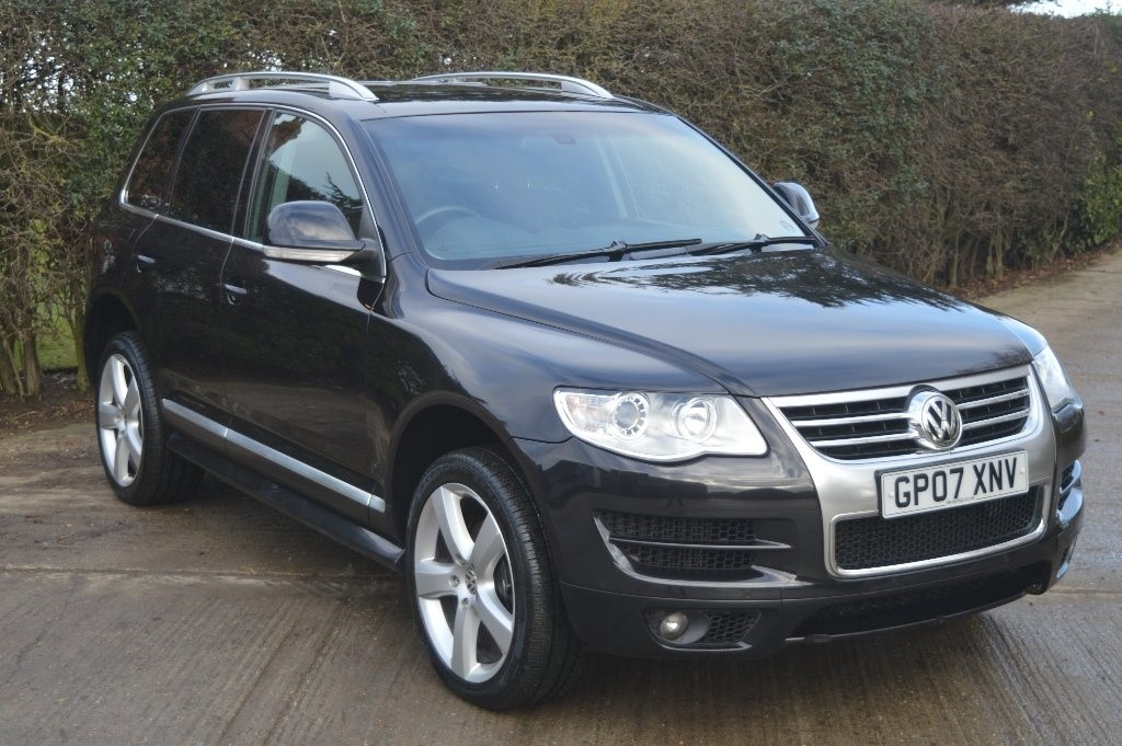 used black vw touareg for sale epping essex. Black Bedroom Furniture Sets. Home Design Ideas