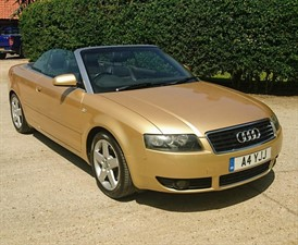 Car of the week - Audi A4 Cabriolet T Sport Cabriolet 2dr - Only £1,689
