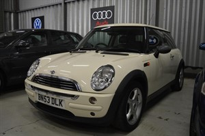 Car of the week - MINI Hatch One 3dr - Only £1,498