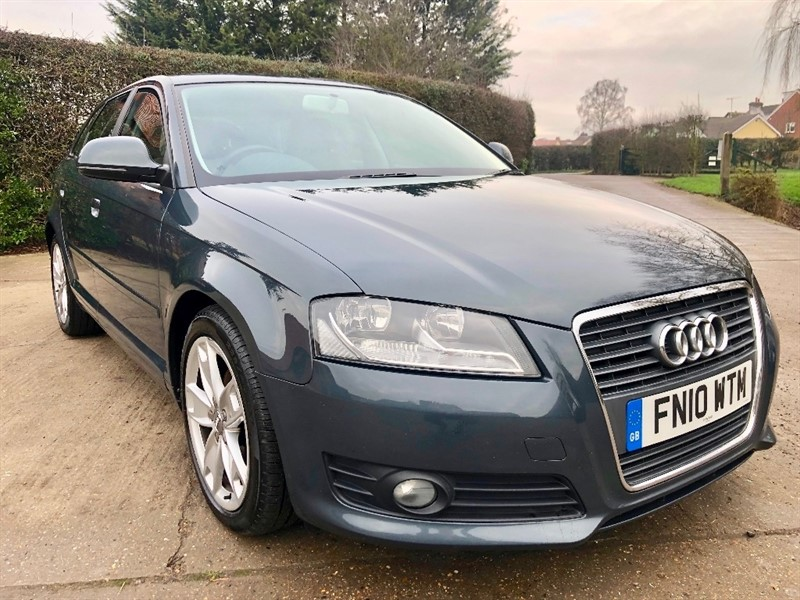 used Audi A3 TD Sport Sportback 5dr in epping-essex