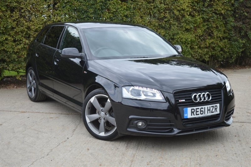 used Audi A3 TDI Black Edition Sportback 5dr in epping-essex