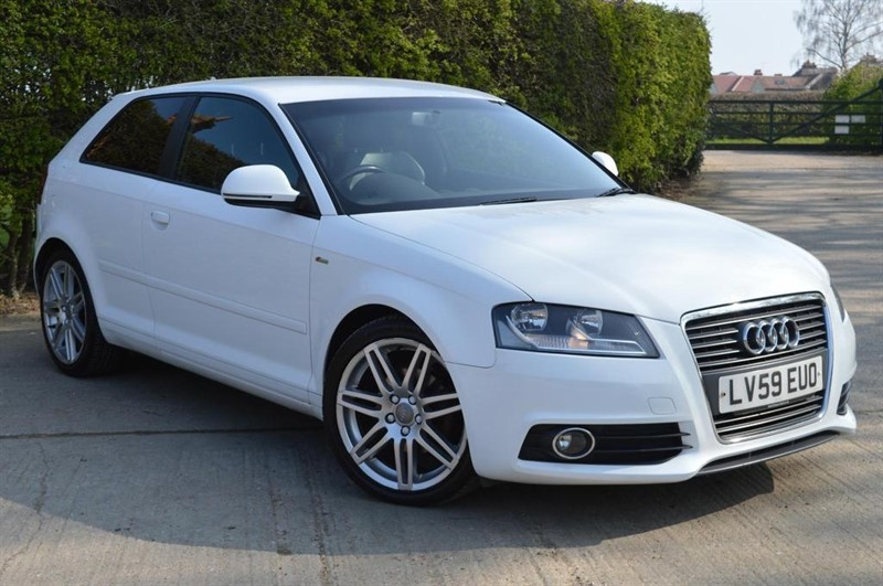 used Audi A3 S line 3dr in epping-essex