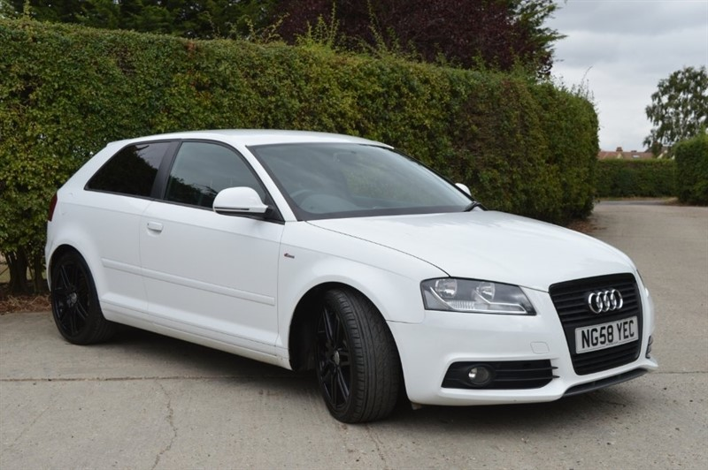 used Audi A3 TFSI S line 3dr in epping-essex