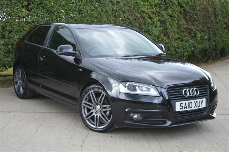 used Audi A3 TFSI Black Edition 3dr in epping-essex