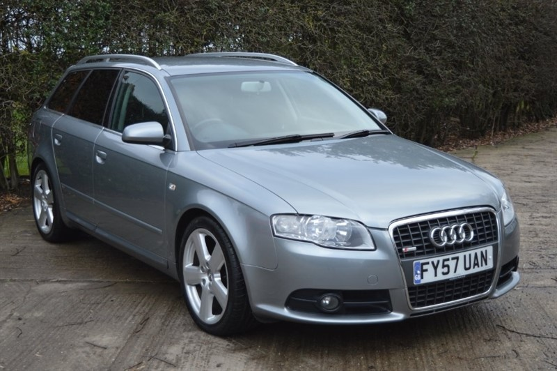 used Audi A4 Avant TDI S line CVT 5dr in epping-essex