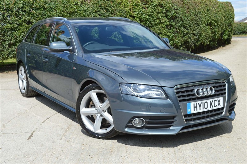 used Audi A4 Avant TDI S line Special Edition 5dr in epping-essex