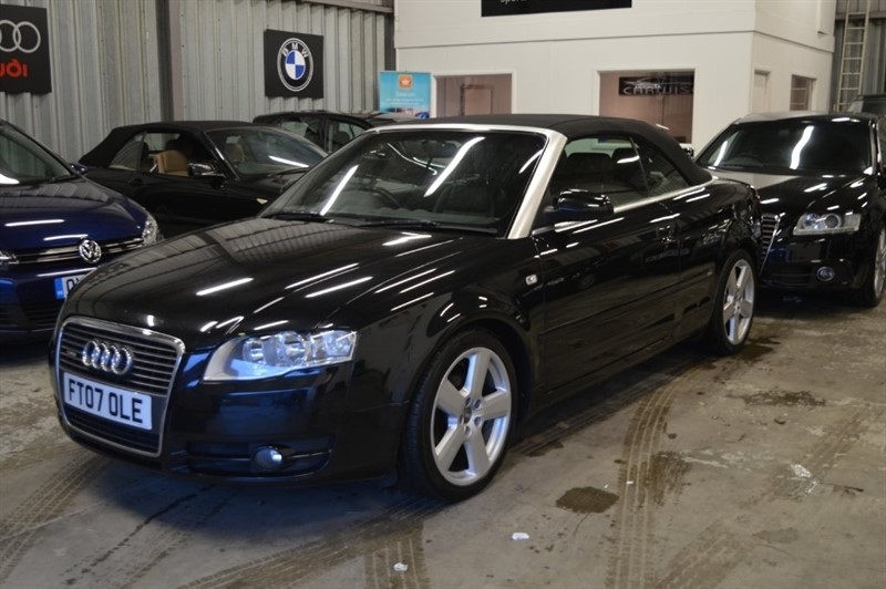 used Audi A4 Cabriolet TDI S line Cabriolet 2dr in epping-essex