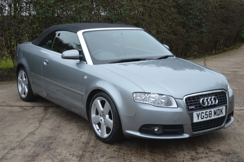 used Audi A4 Cabriolet TDI S line Cabriolet Multitronic 2dr in epping-essex