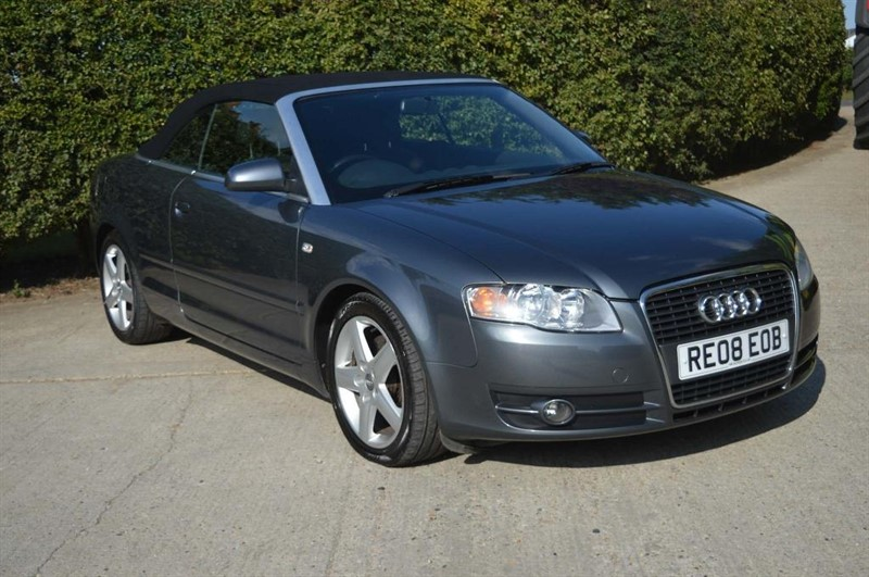 used Audi A4 Cabriolet T Sport Cabriolet 2dr in epping-essex